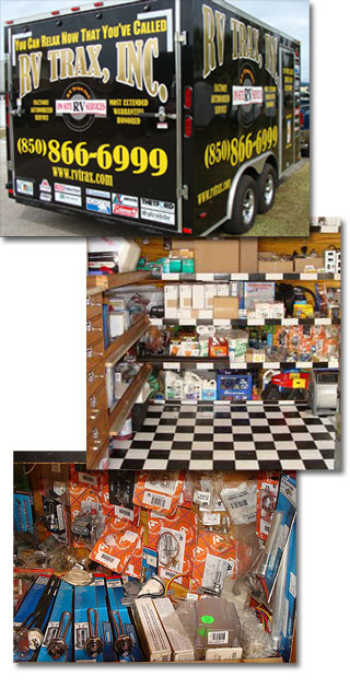 RV Trax Trailer and Tools